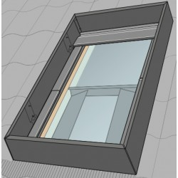 Deflektor do okna VELUX UK08 134x140 cm