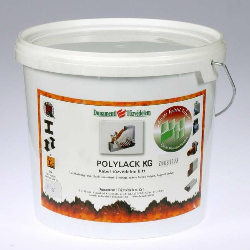 Polylack KG - pęczniejąca pasta ogniochronna