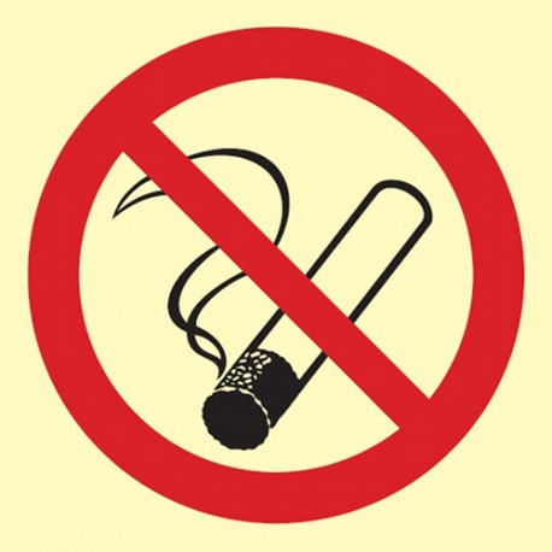 Znak palenie tytoniu zabronione BA 001