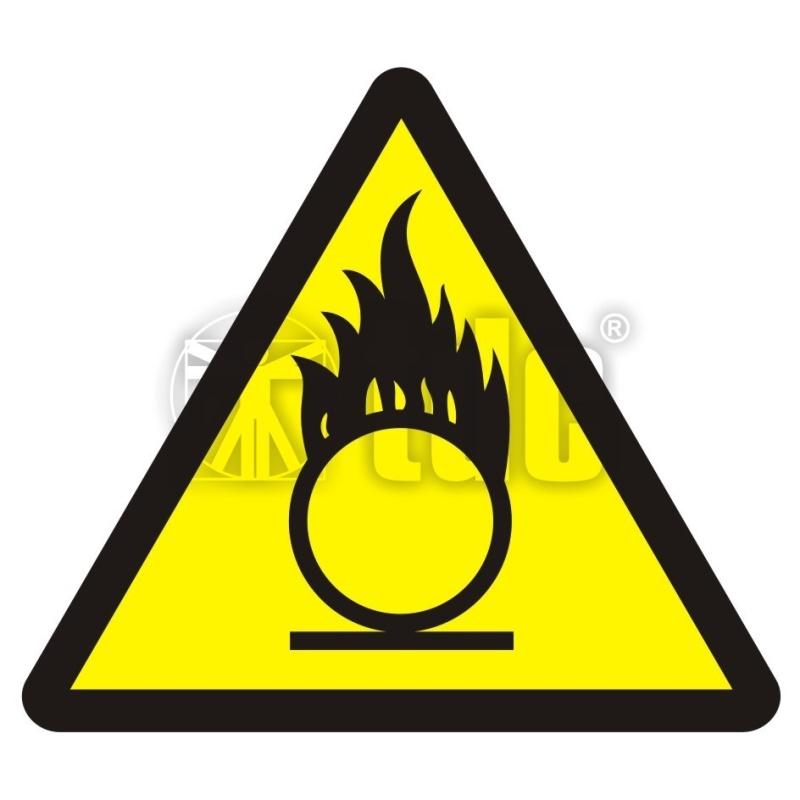 Znak materiały utleniające BA 015