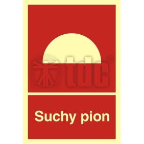 Znak suchy pion BB 006