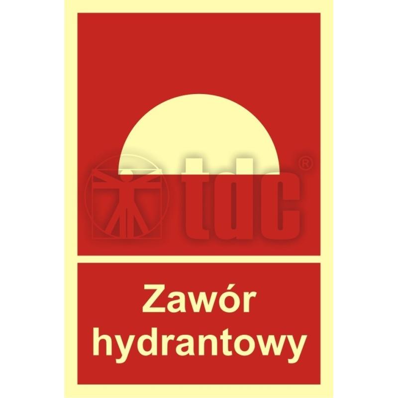 Znak zawór hydrantowy BB 015