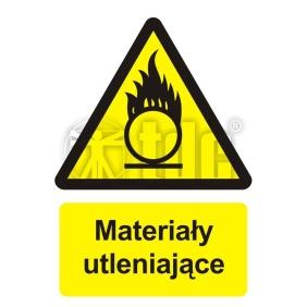 Znak materiały utleniające BC 003