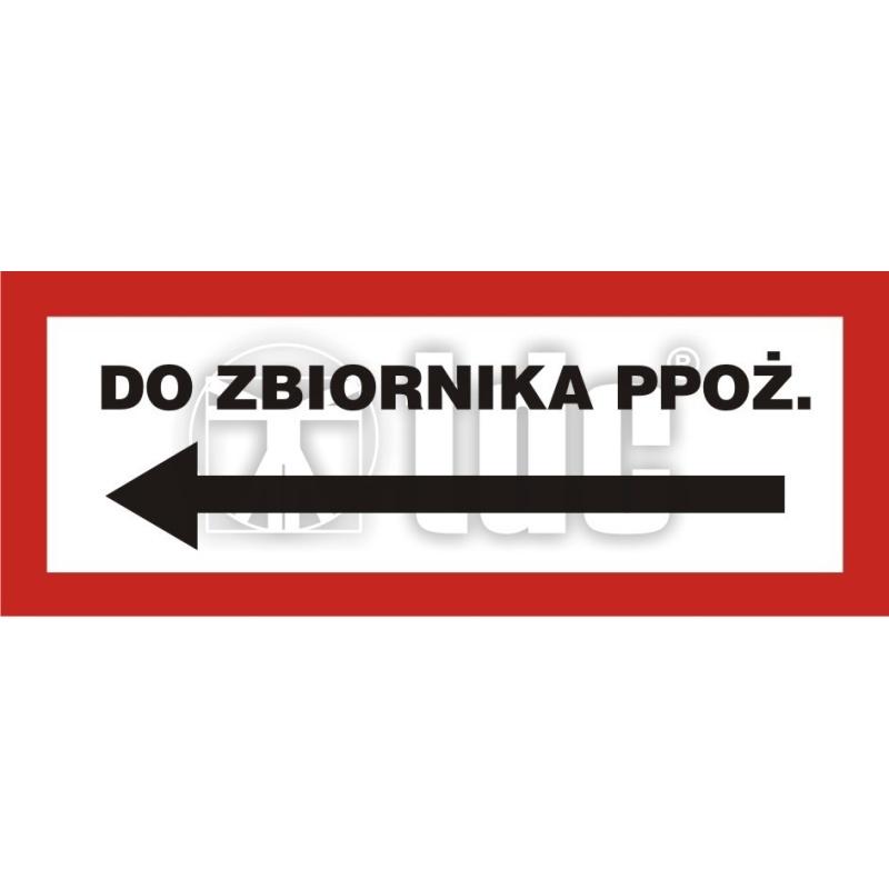 Znak do zbiornika ppoż. BC 116L