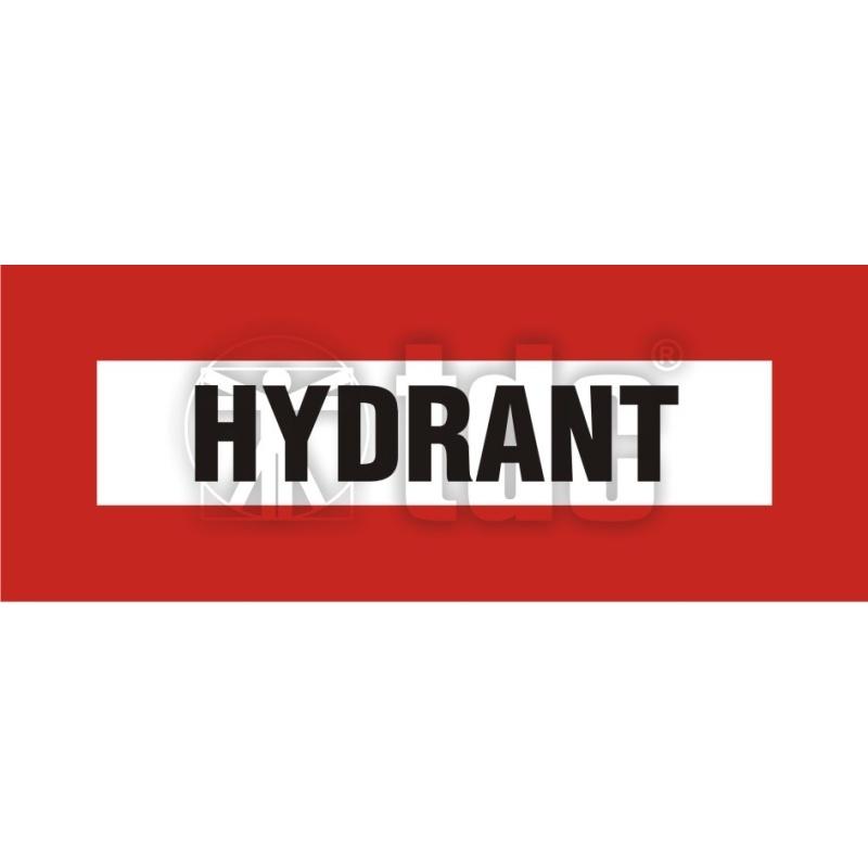 Znak hydrant BC 118