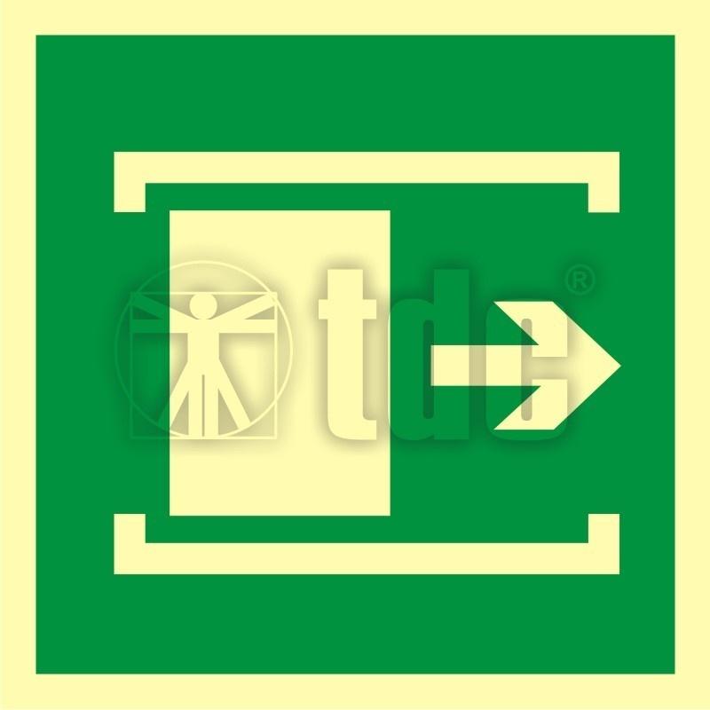 Znak przesunąć w celu otwarcia AA 016