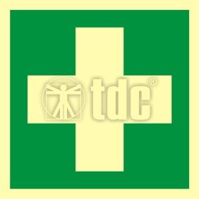 Znak pierwsza pomoc medyczna AA E003