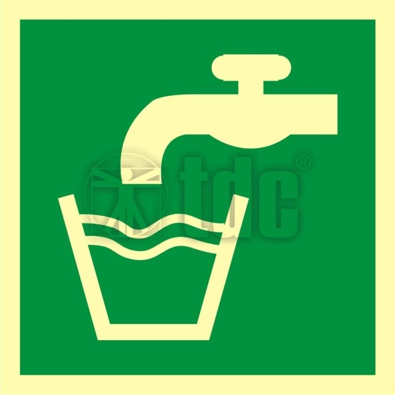 Znak woda zdatna do picia AA E015