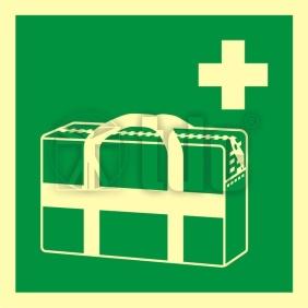 Znak medyczna torba przenośna AA E027