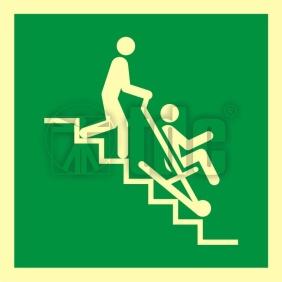 AAE060 Znak krzesło ewakuacyjne