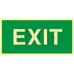 Znak exit AC 004