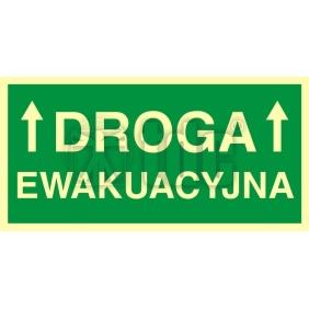 Znak droga ewakuacyjna 1 AC 006