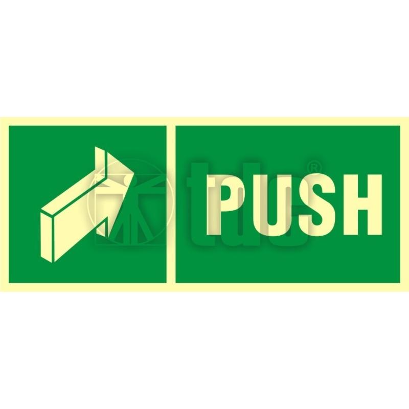 Znak push AC 041