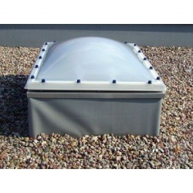 Wyłaz dachowy kopułkowy 150x150/35 cm