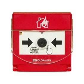 Ręczne ostrzegacze pożarowe ROP-4001M