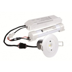 STARLET WHITE LED 3W 3h MT SA/A SO