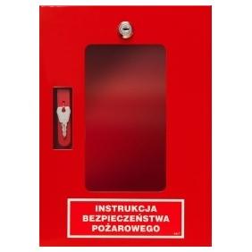 Szafka metalowa na instrukcje bezpieczeństwa