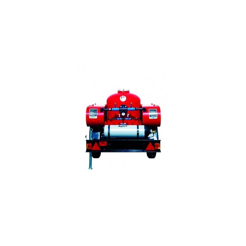 Agregat proszkowy 250kg AP-250z ABC