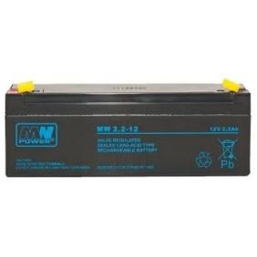Akumulator 12V / 2,2 Ah (do centrali 4A) Akku Typ 2