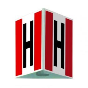 Hydrant zewnętrzny 3D - mały 25 x 25 cm