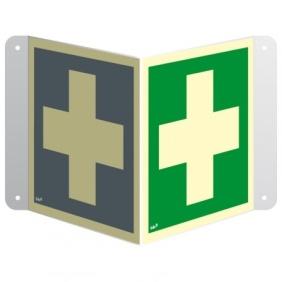 Znak przestrzenny Pierwsza pomoc medyczna