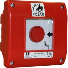 Ręczny ostrzegacz pożarowy OP1-W02-A-01