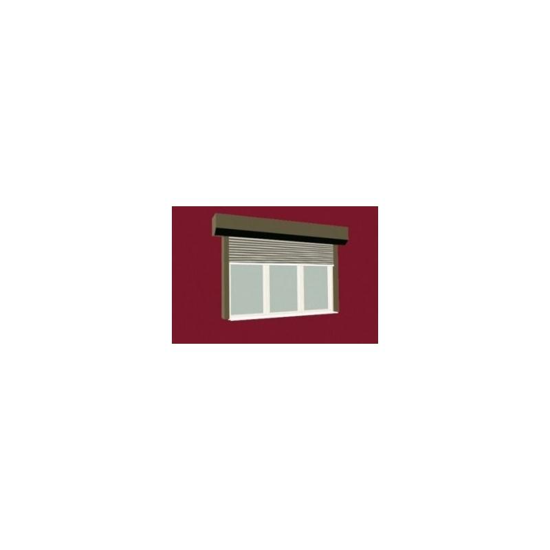Bramy rolowane okienne