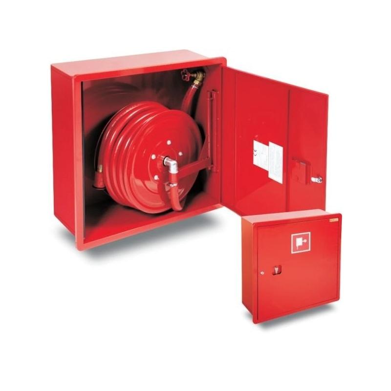 Hydrant DN 25 wewnętrzny, HP-700-B.20 wnękowy z wężem półsztywnym