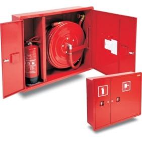 Hydrant wewnętrzny 25HP+GP-750-B.30 wnękowy z miejscem na gaśnicę z boku