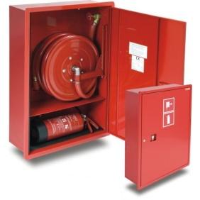 hydrant wewnetrzny 25HP+GP-950-B.20 wnękowy z miejscem na gaśnicę pod