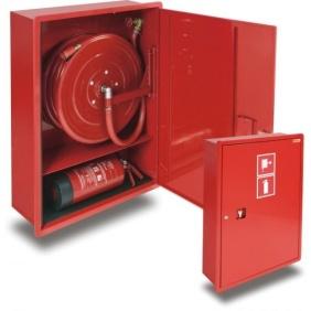 hydrant wewnętrzny 25HP+GP-1000-B.30 wnękowy z miejscem na gaśnicę pod