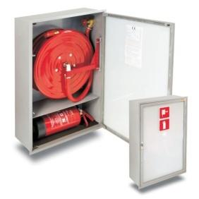 Hydrant wewnętrzny 25HP+GP-1000-B.30/S2 wnękowy, z miejscem na gaśnicę pod