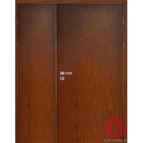Drzwi drewniane EIS30 PLUS dwuskrzydłowe dymoszczelne