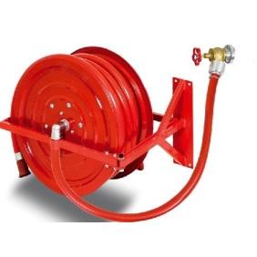 Hydrant wewnętrzny 33H-B.30 bęben wychylny, wąż 30m