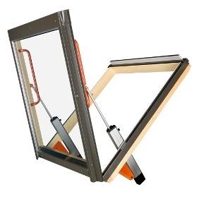 Dachowe okno oddymiające FAKRO PSP P1 78x140