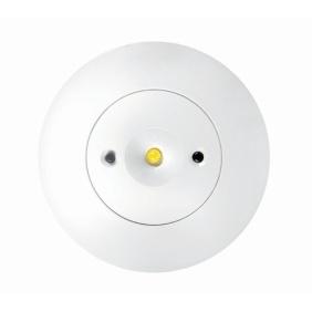 Lampa awaryjna podtynkowa STARLET WHITE LED