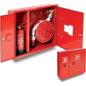 Hydrant wewnętrzny HP+GP-650-B.15 wnękowy z miejscem na gaśnicę z boku