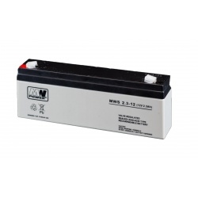 Akumulator MWS 12V / 2,3Ah