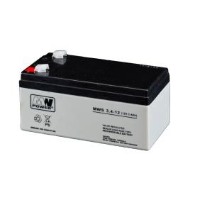 Akumulator MWS 12V / 3,4Ah