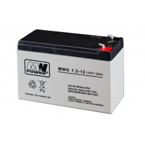 Akumulator MWS 12V / 7.2Ah