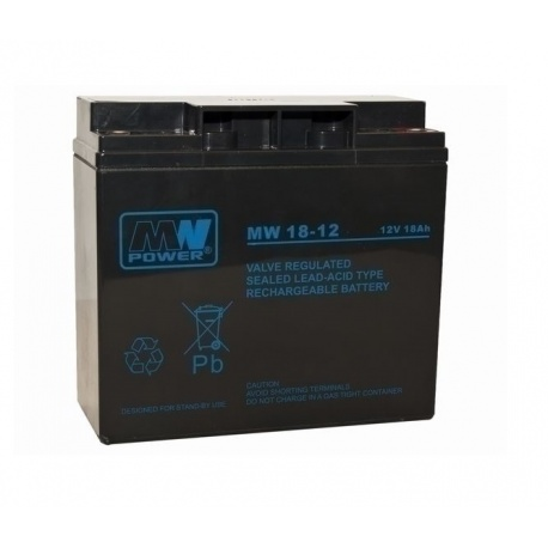 Akumulator 12V / 17 Ah (2szt. do centrali 32A) Akku Typ 5