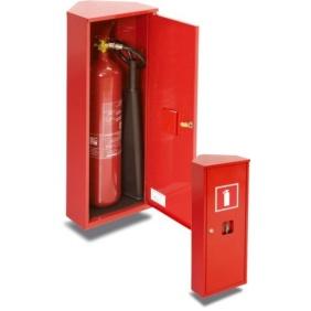 Szafka ochronna narożna na 1 gaśnicę - GN-500, GN-600, GN-700, GN-800, GN-900