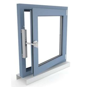 Okno oddymiające NSHEV rozwierne, otwierane do wewnątrz