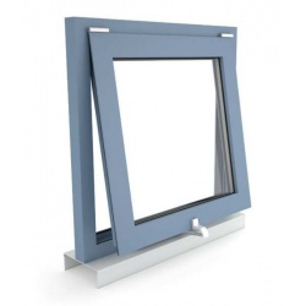 Okno oddymiające NSHEV odchylne, otwierane do wewnątrz