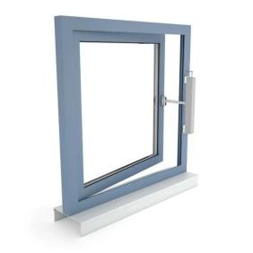 Okno oddymiające NSHEV rozwierane, otwierane na zewnątrz