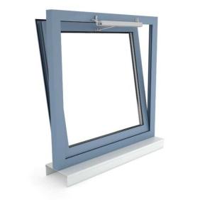 Okno oddymiające NSHEV uchylne, otwierane na zewnątrz