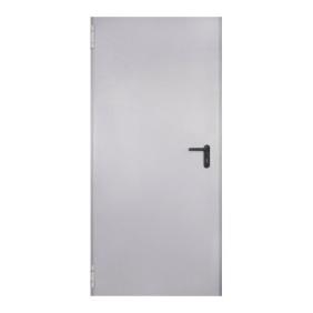 Drzwi stalowe ppoż dymoszczelne jednoskrzydłowe CLASSIC EIS60