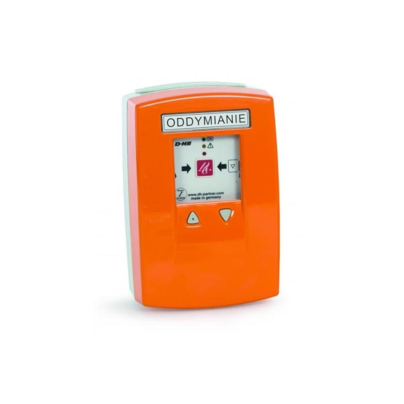 Centrala oddymiania kompaktowa z wbudowanym przyciskiem oddymiania i przewietrzania 3A, pomarańczowa RZN 4503-T