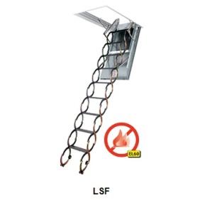 Schody strychowe przeciwpożarowe LSF EI60 FAKRO H305 cm