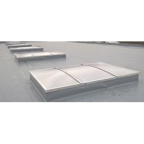 Świetlik dachowy łukowy